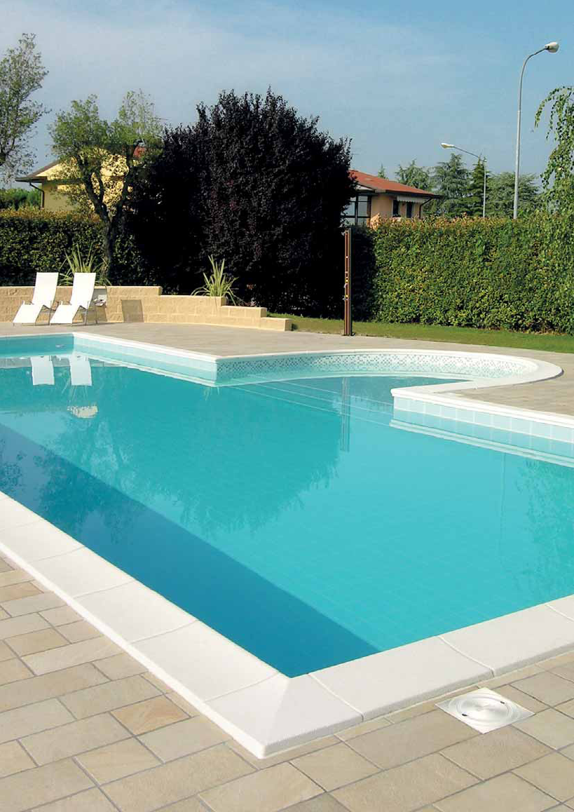 bordi per piscina made in italy bordo ForBordi Per Piscine